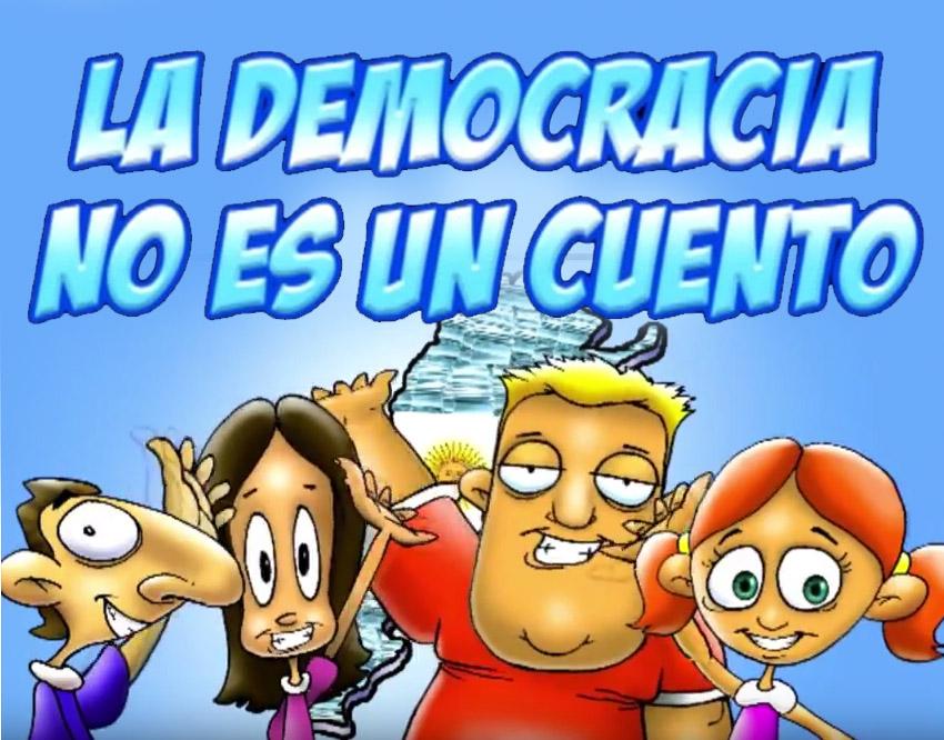 La democracia no es un cuento