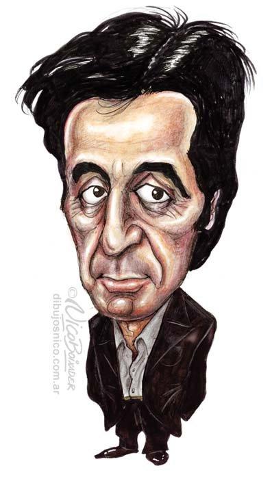 Caricatura Al Pacino