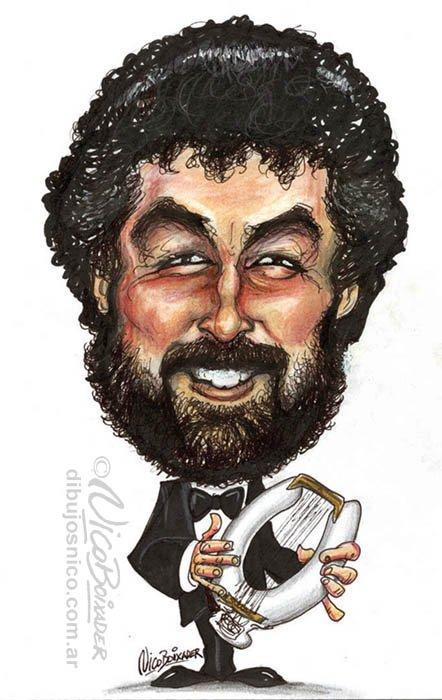 Caricatura Carlos Nuñez