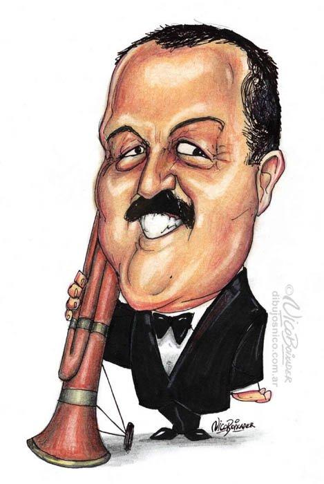 Caricatura Daniel Rabinovich