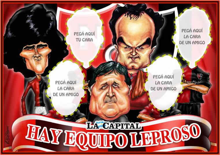 Caricatura Hay Equipo Leproso