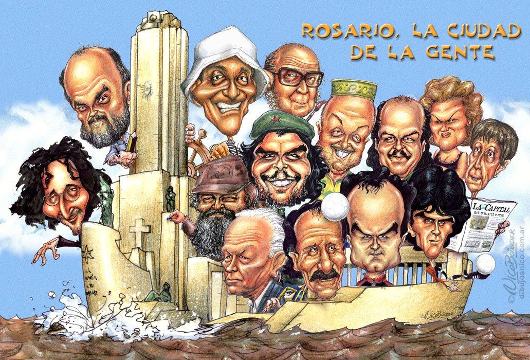 Caricatura La Ciudad de la Gente