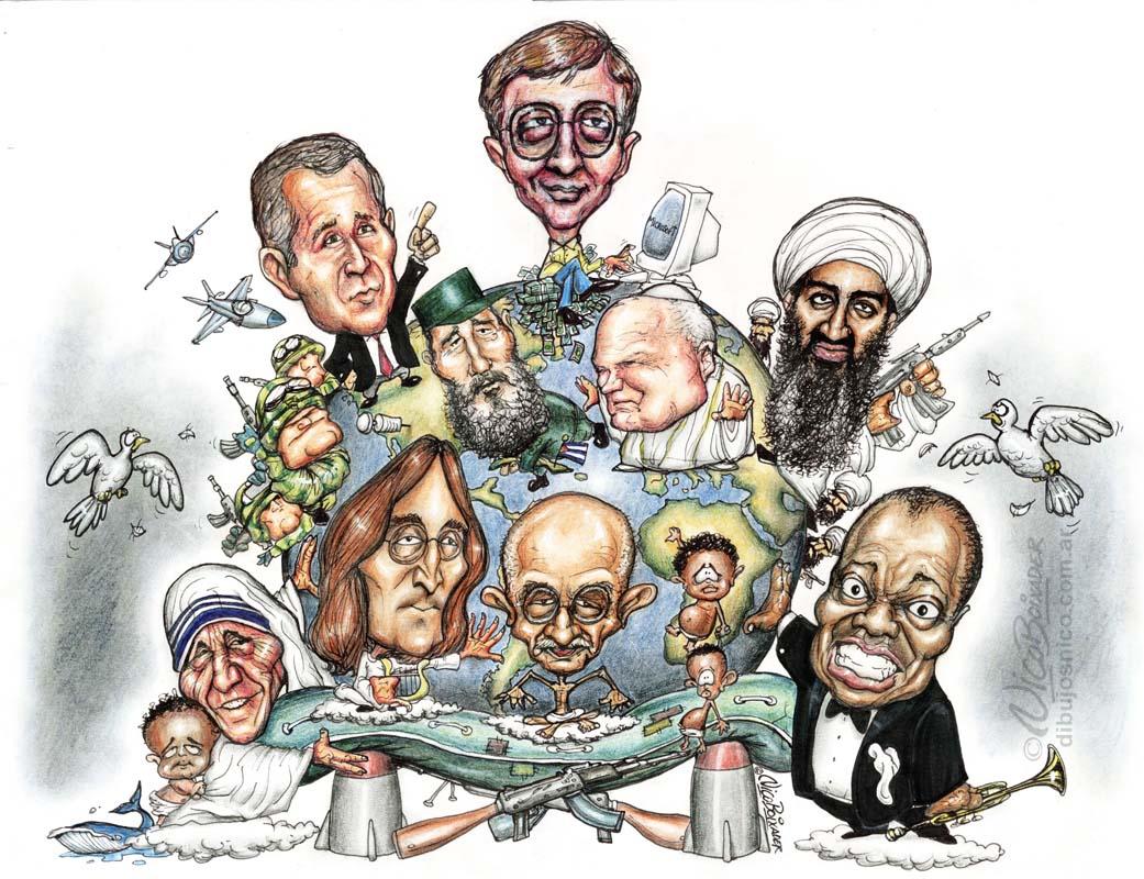 Caricatura Mundo