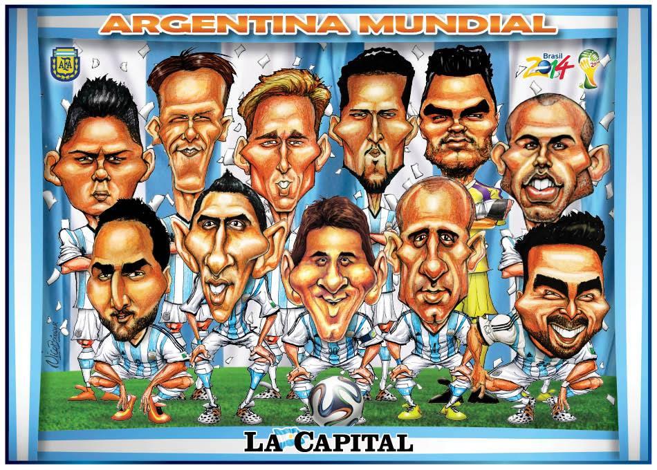 Caricatura Argentina 2014