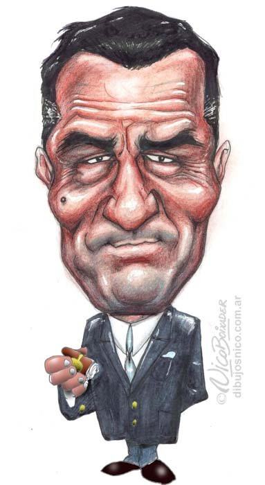 Caricatura Robert De Niro