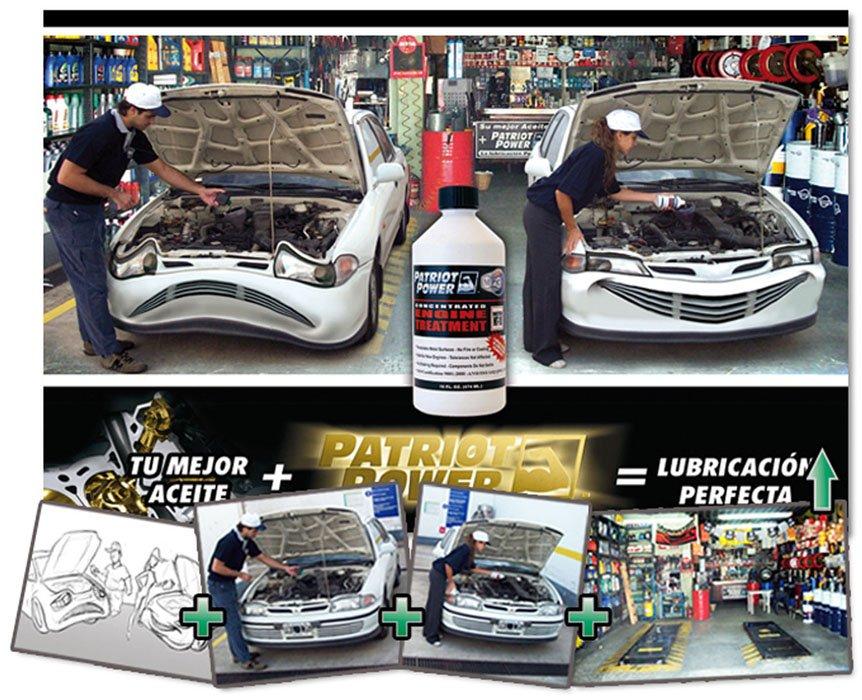 Patriot Power Fotomontaje Auto