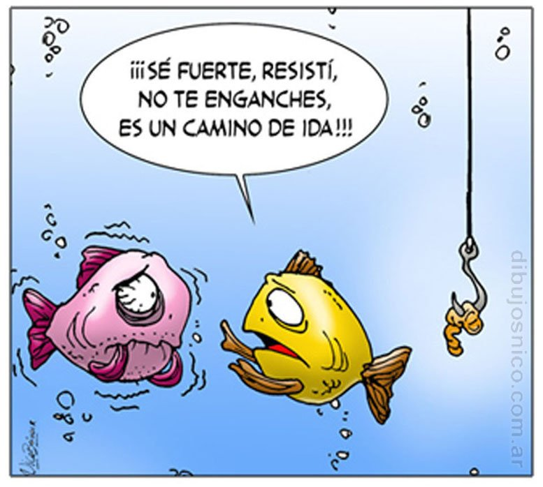 Chiste Peces Humor Gráfico