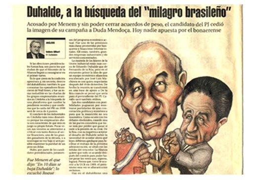 Caricatura diario el ciudadano y la región
