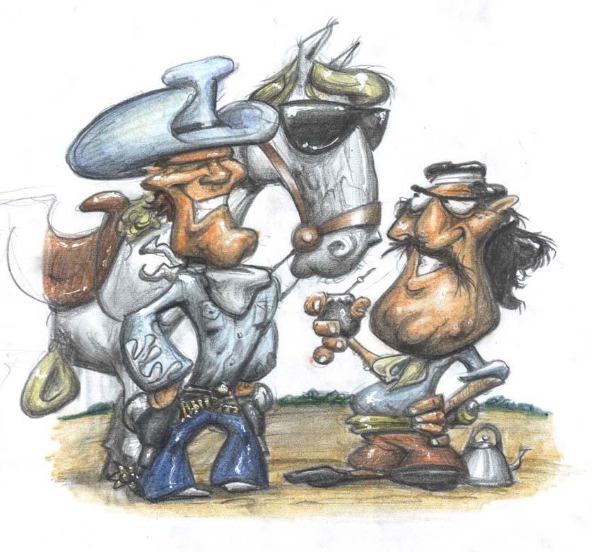 Ilustración gaucho