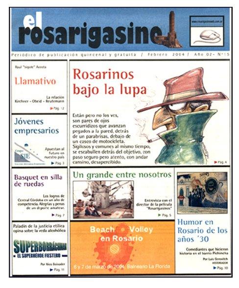 Ilustración para tapa el rosarigasino