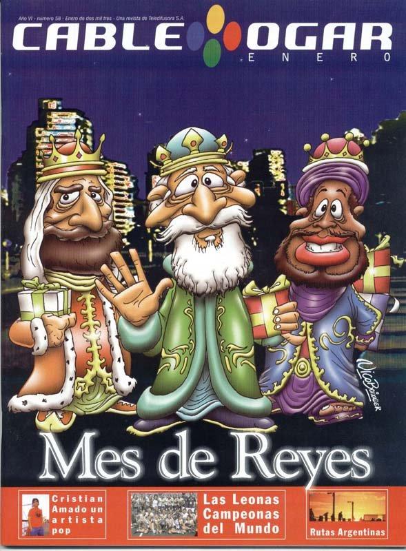 Ilustración tapa Cablehogar reyes