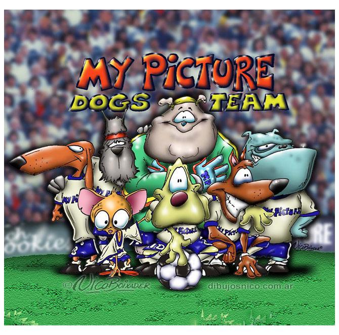 Ilustración ropa infantil futbol MyPicture