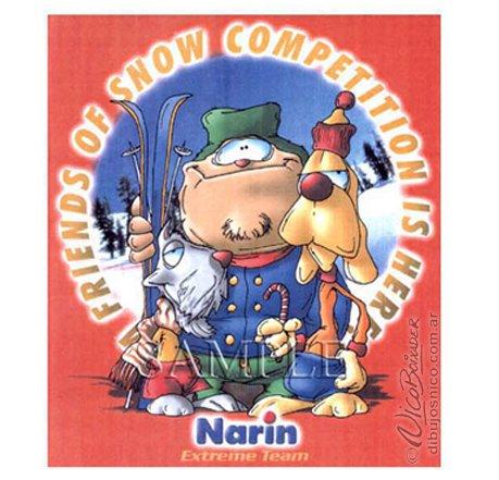 Ilustración ropa infantil Narim