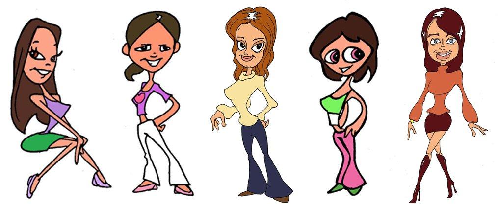 Diseño personajes Shanty