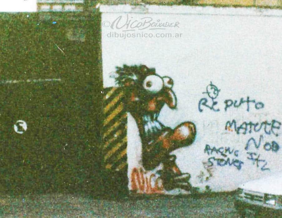 Mural loco