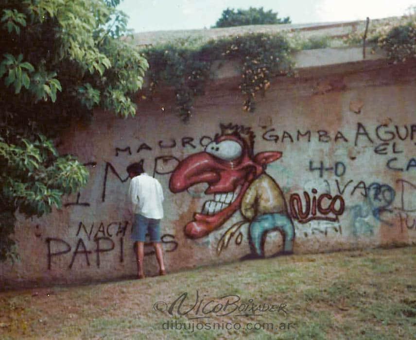 Mural meon