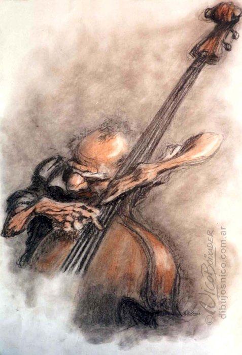 Ilustración Argentina Jazz Mistic Solo