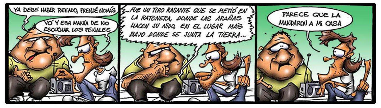 Humor Gráfico Concejal hincha Toribio